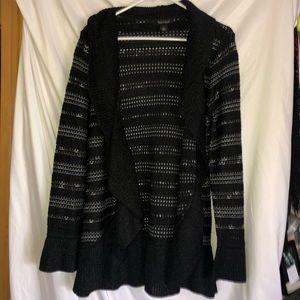 White House Black Market Cardigan Size: L